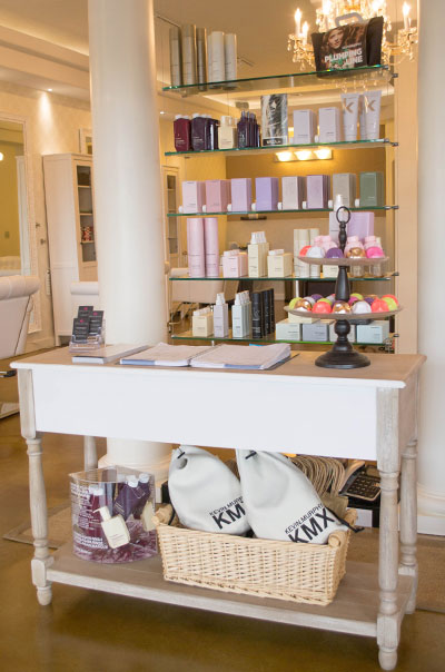 Elegant Opulence Spa Front Display