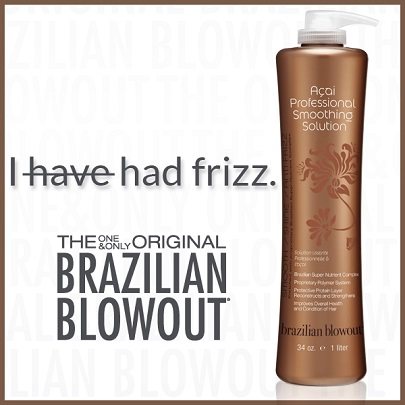 Opulence Tanning and Salon Brazilian Blowout Ad